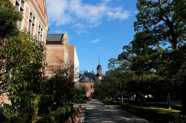 도시샤대학 캠퍼스.JPG
