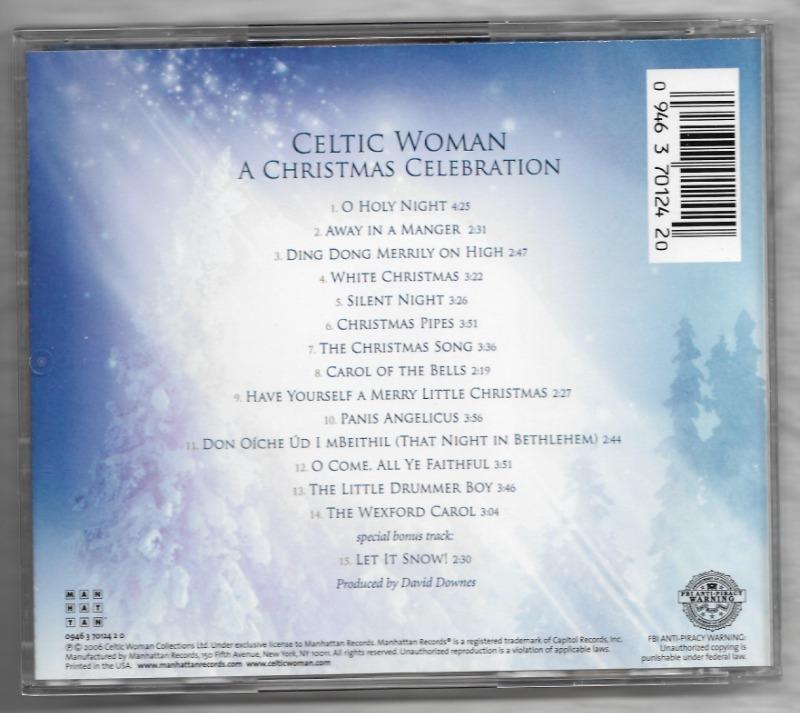CELTIC WOMAN - A Christmas Celebration 수입-2.jpg